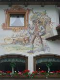 faldekoráció, Hotel Neuhintertux (Tirol)