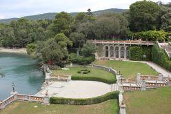 A Miramare kastély parkjának szalonképes része