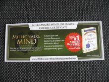 You have a millionaire mind!
